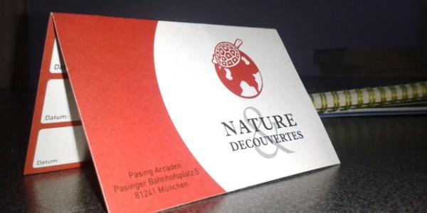 Cartes de fidélité Nature & Découvertes